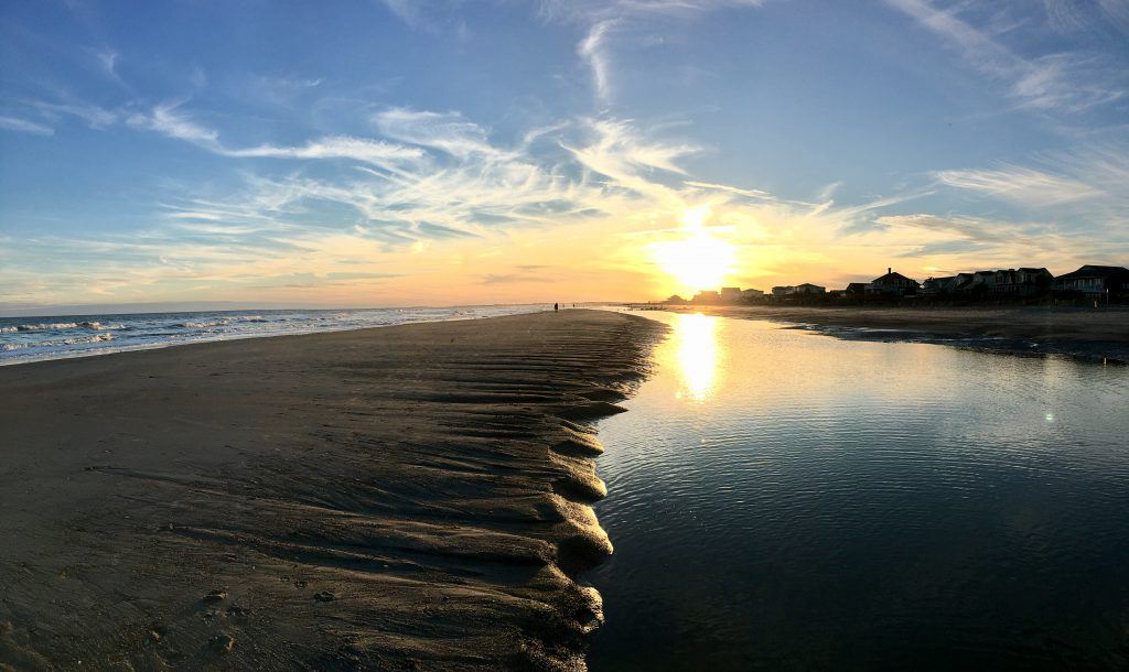 Sunset - Thanksgiving on the Charleston Coast