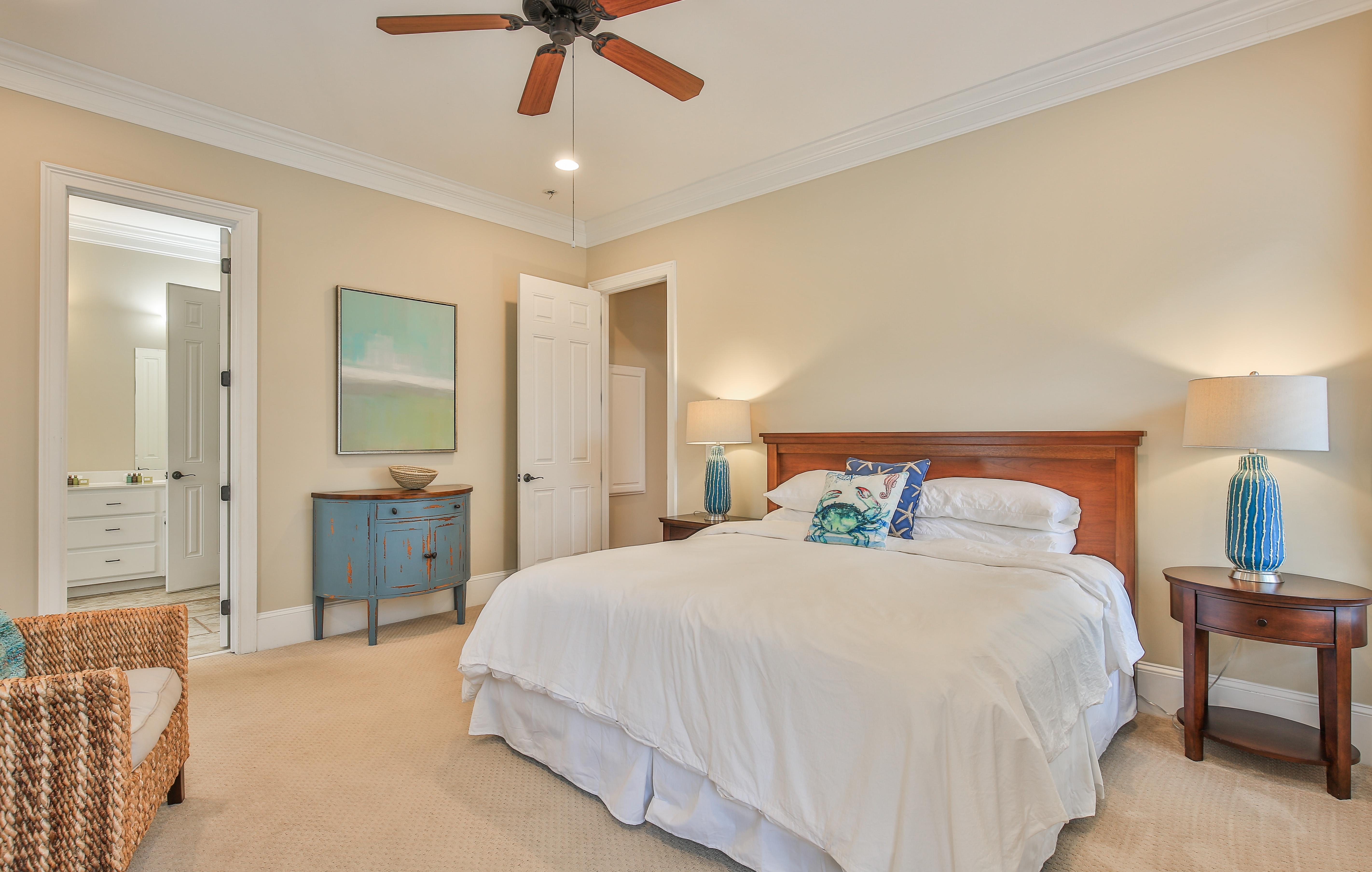 The Okeanos 1008 E Ashley Ave Master Bedroom