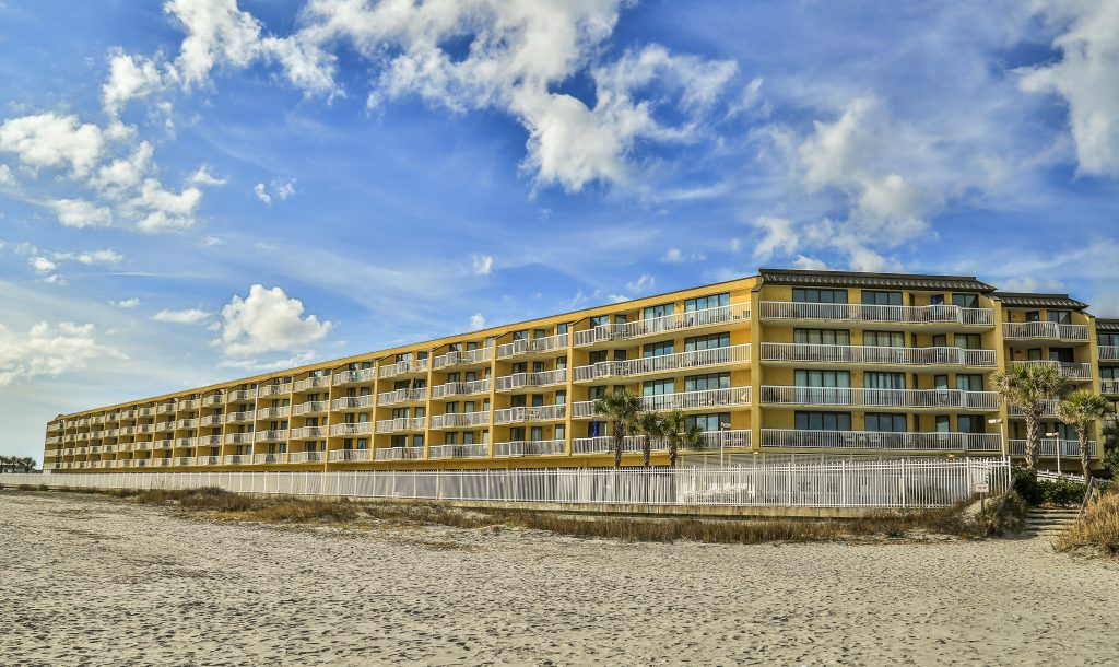 Charleston Oceanfront Villas Beach