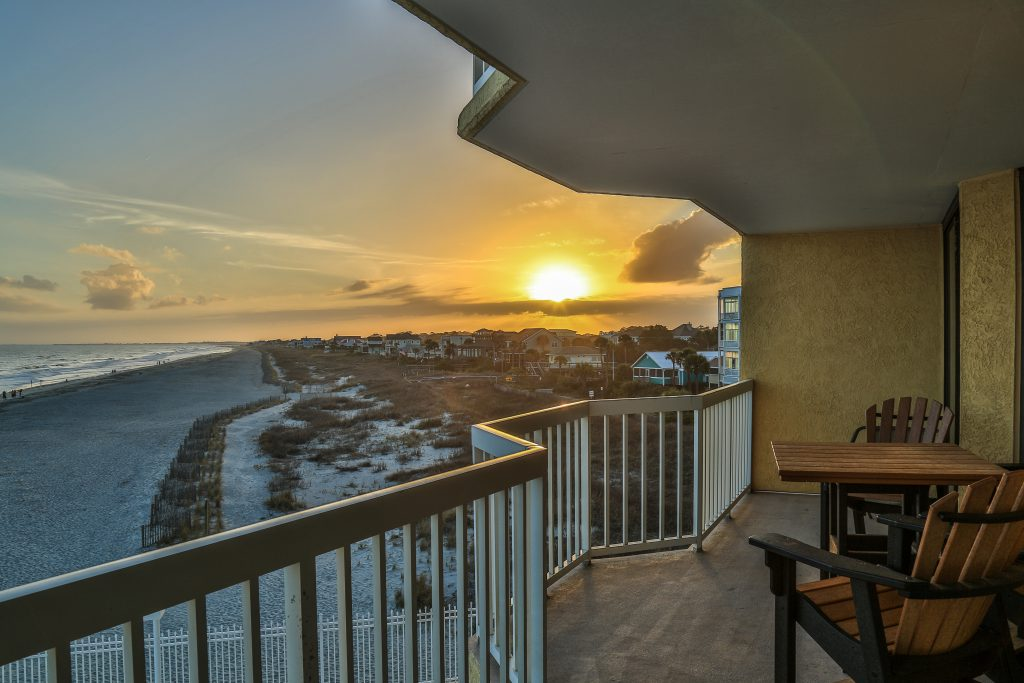 Charleston Oceanfront Villas Sunset