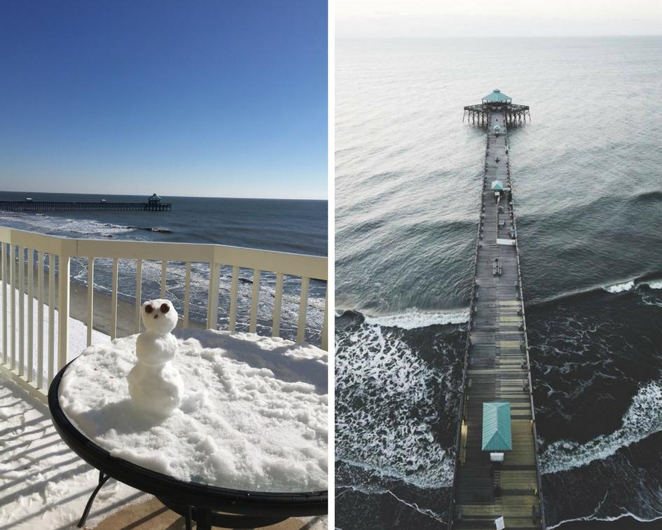 Charleston Coast Snow Day Folly