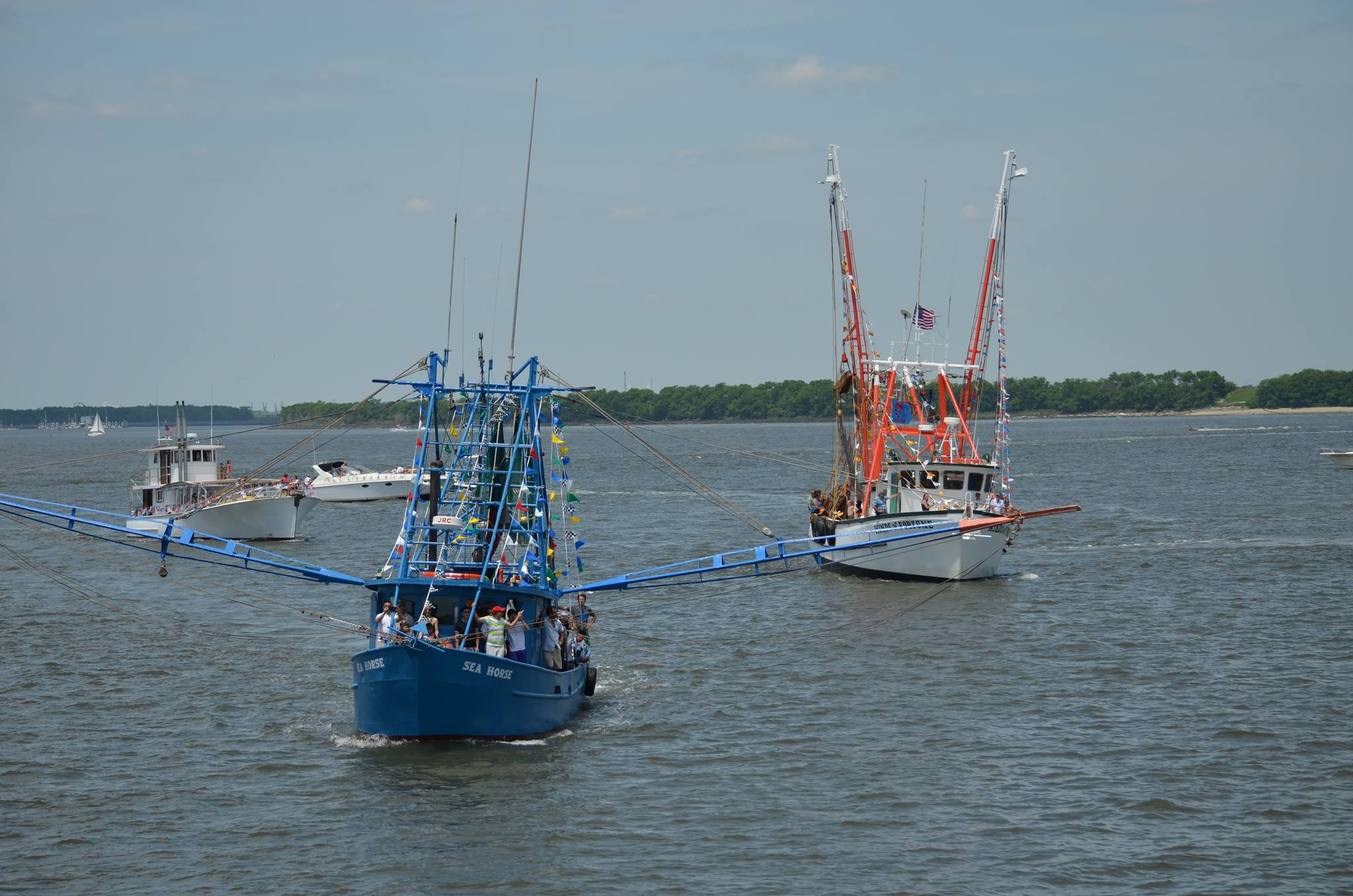 Charleston Things To Do Blessing of the Fleet