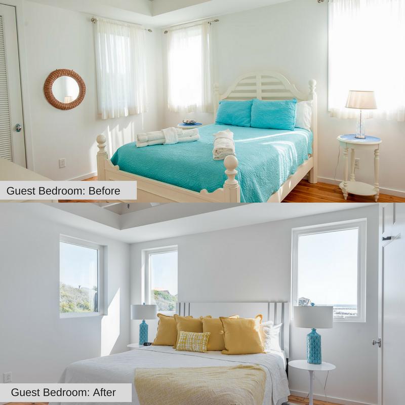 Guest Bedroom 1215 E Arctic Folly Beach Charleston Coast Vacations