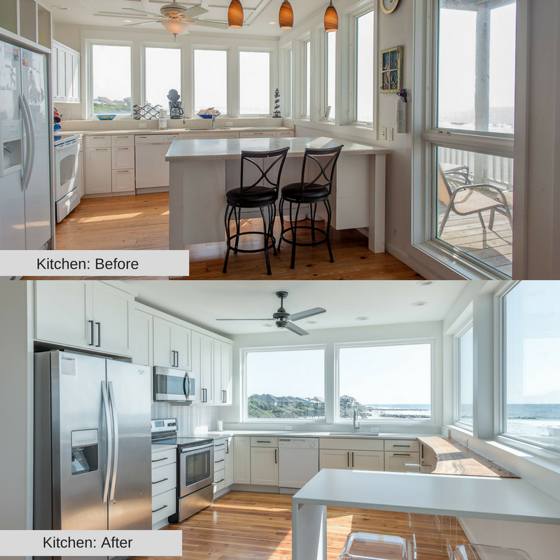 Kitchen 1215 E Arctic Folly Beach Charleston Coast Vacations