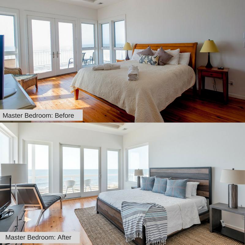 Master Bedroom 1215 E Arctic Folly Beach Charleston Coast Vacations