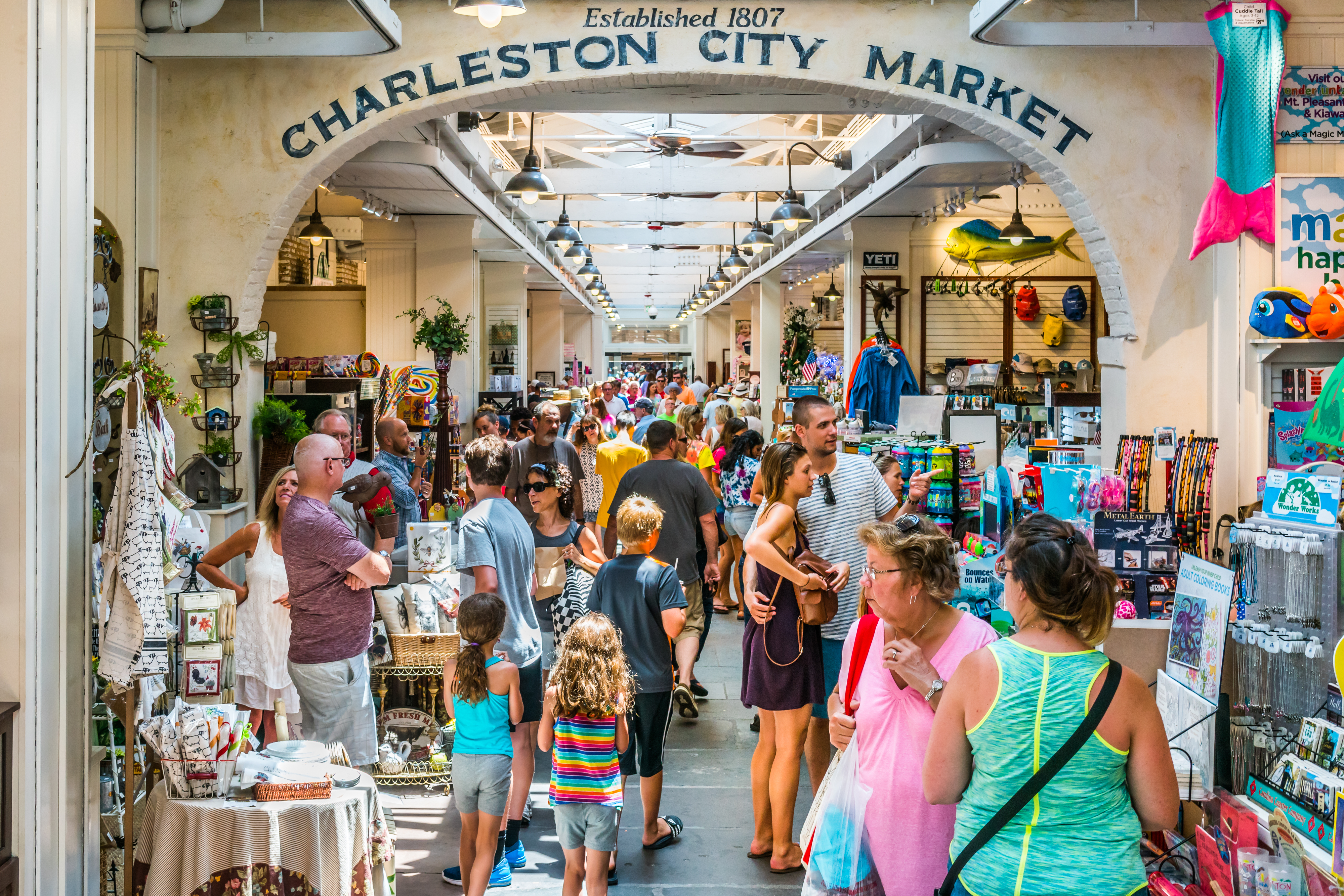 This Is Why You Need to Go to the Historic Charleston City Market