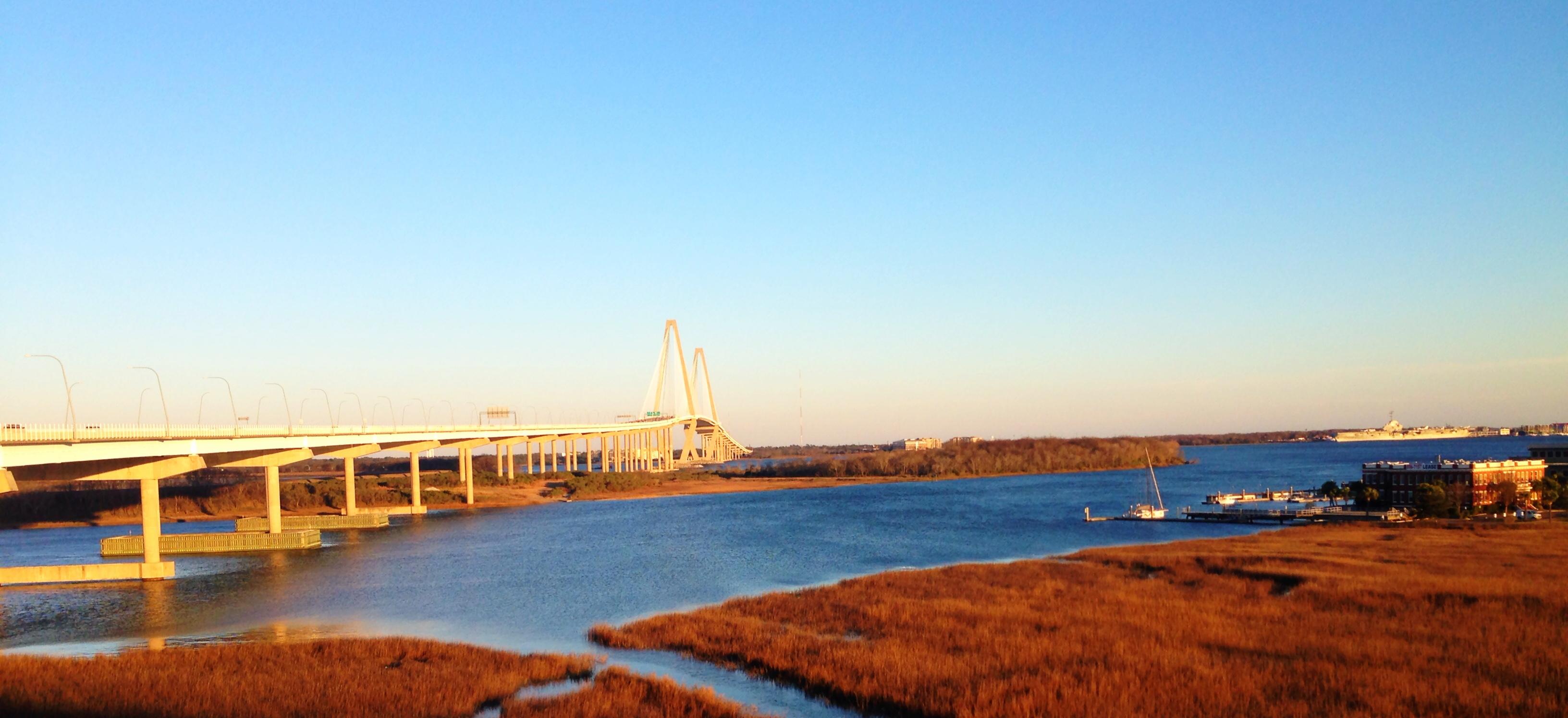 ravenel bridge Outdoor activities things to do Charleston