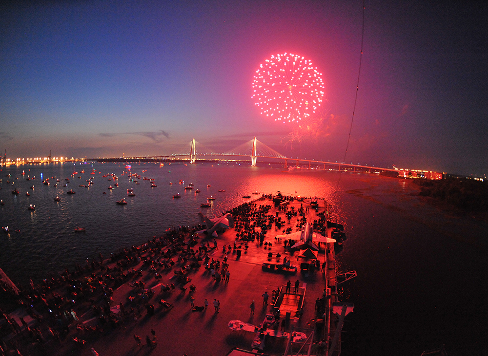 Charleston Summer Events, Patriots Point, 4th of July