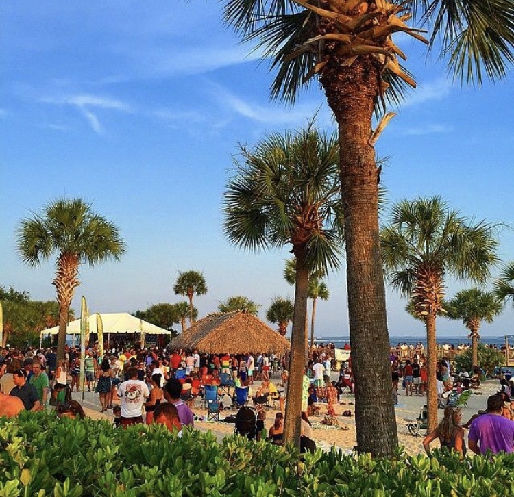 Charleston Summer Events, Party at the Point