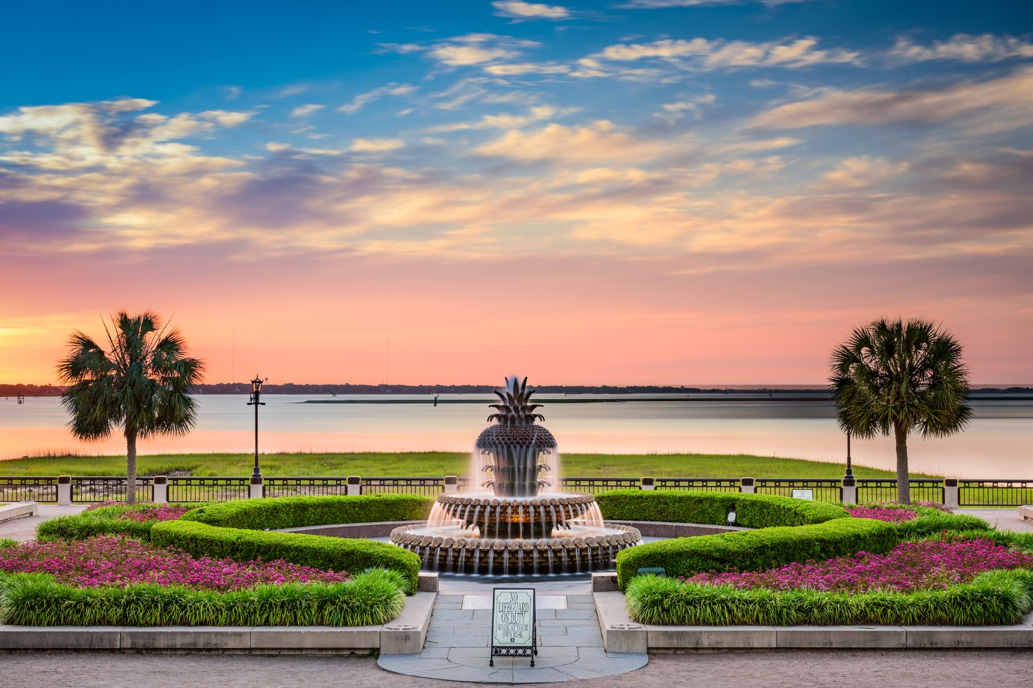 waterfront park is one of the best things to do in charleston SC for free