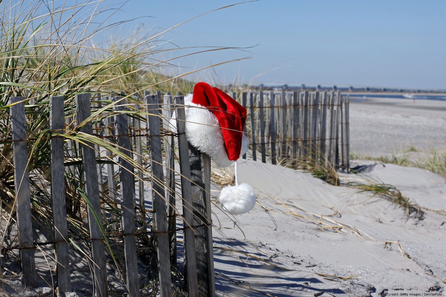 beach after the Mount Pleasant Christmas Parade