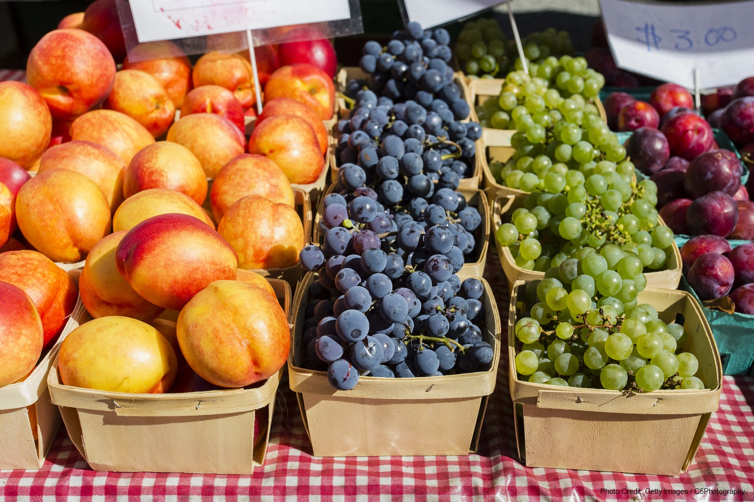 fruit at the Mount Pleasant Farmers Market