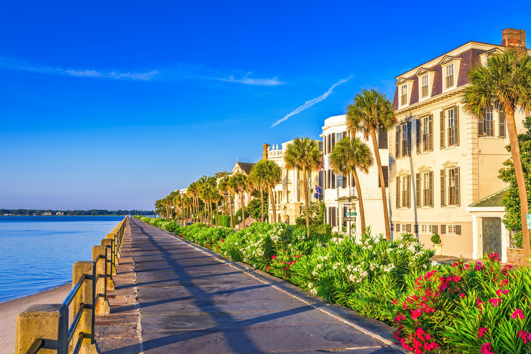 The Battery Charleston during one of the best times to visit charleston sc