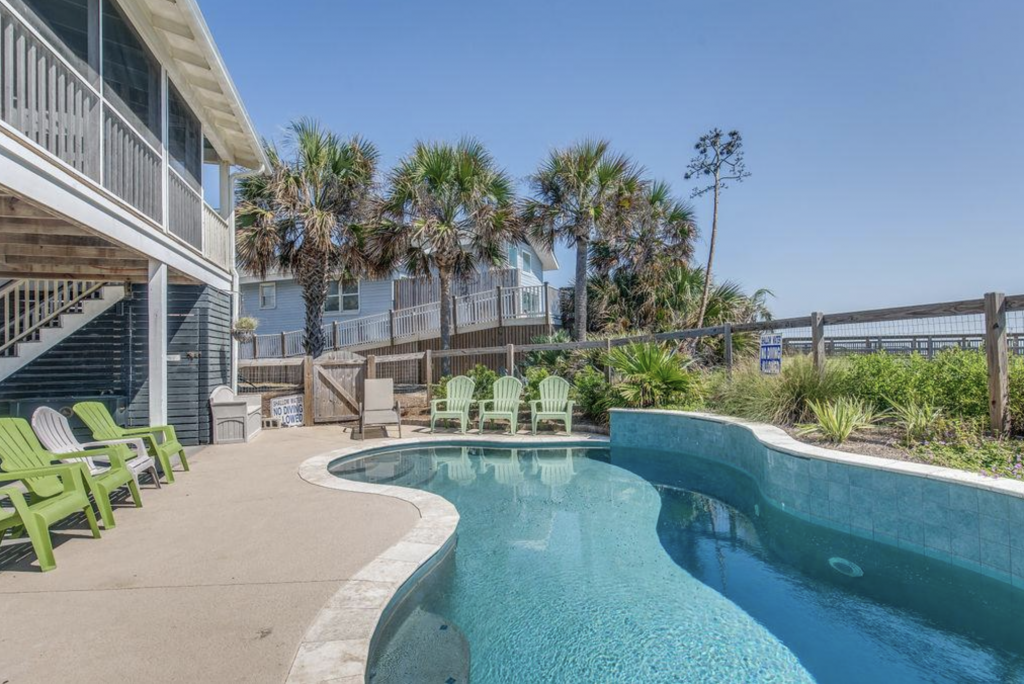 Vacation home with pool from Charleston Coast Vacations